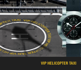 vip helicopter taxi